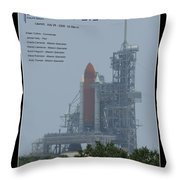 Sts-114 Discovery Throw Pillow