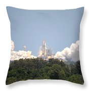 Sts-132, Space Shuttle Atlantis Launch Throw Pillow