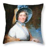 Stuart's Henrietta Marchant Liston Or Mrs. Robert Liston Throw Pillow