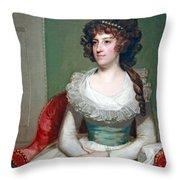 Stuart's Matilda Caroline Cruger Throw Pillow
