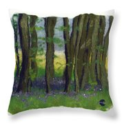 Stubb Wood Throw Pillow
