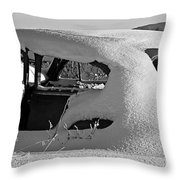 Stuck In Traffic Throw Pillow
