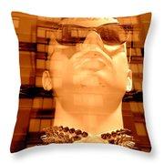 Stud Collared Stud Throw Pillow