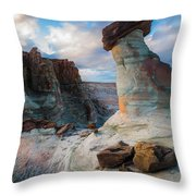 Stud Horse Point 2 Throw Pillow