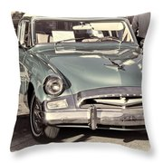 Studebaker 3 Throw Pillow