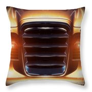Studebaker Mug Throw Pillow