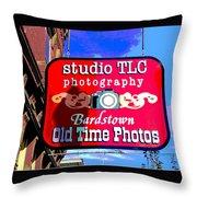 Studio Tlc In Bardstown Kentucky Throw Pillow