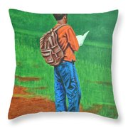 Studious Throw Pillow