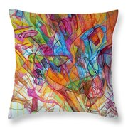 Study 1 Throw Pillow