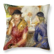 Study For The Soda Fountain Throw Pillow