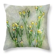 Nature Study In Moonlight Throw Pillow