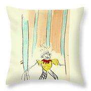 Stumble Throw Pillow