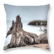 Stump Dragon Throw Pillow