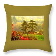 Stunning - Looks Like A Painting - Autumn Landscape  Throw Pillow