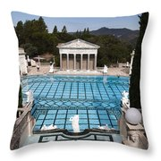 Stunning Pool Throw Pillow
