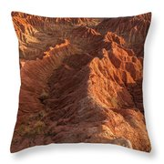 Stunning Red Rock Formations Throw Pillow