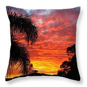 Stunning Sunset Throw Pillow