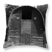 Sturdy Old Barn Throw Pillow