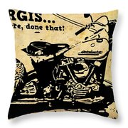 Sturgis Been There Done That Throw Pillow