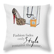 Style Remains The Same Throw Pillow by My Inspiration