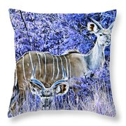 Styled Environment- Modern Kudus V3 Throw Pillow