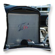 Stylish Ford Throw Pillow