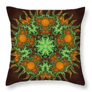 Subatomic Neuron Throw Pillow