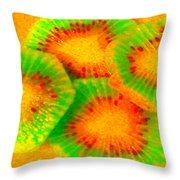 Sublime Kiwi Throw Pillow