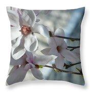 Sublime Magnolia Throw Pillow