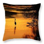 Sublime Silhouette Throw Pillow