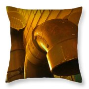 Submission Throw Pillow