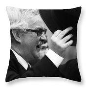 Subtle  Regards  Throw Pillow