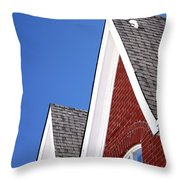 Suburban Canada Throw Pillow