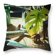 Suburban Safari Original Throw Pillow
