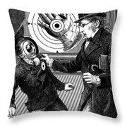 Subversive Targets Throw Pillow
