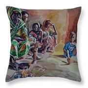 Sudanese Coffee Throw Pillow