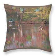 Sudbury River Throw Pillow
