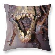 Sue The Tyrannosaurus Rex Throw Pillow