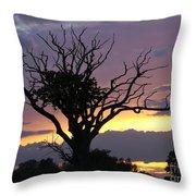 Suffolk Sunset Recalled Throw Pillow