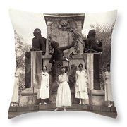 Suffragettes, 1918 Throw Pillow