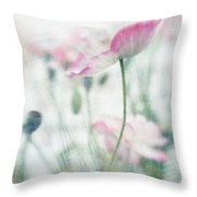 suffused with light III Throw Pillow