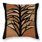 Sugar Maple Throw Pillow