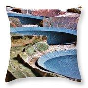 Sugar Mill Runes Throw Pillow