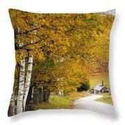 Sugar Mill Vermont Throw Pillow