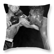 Sugar Ray Throws A  Right Throw Pillow by Underwood Archives