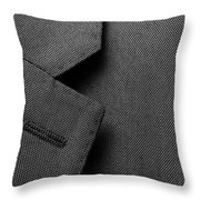 Suit Texture Throw Pillow