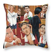 Suiting Throw Pillow