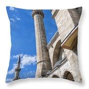 Suleiman Mosque 08 Throw Pillow