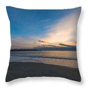 Sullivan's Island Sc Sunrise Throw Pillow