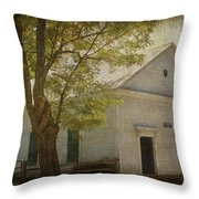 Sulphur Springs Methodist Church Throw Pillow